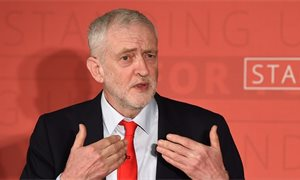 Corbyn promises £70bn investment in Scotland if Labour wins election