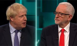 Boris Johnson and Jeremy Corbyn fail to land knockout blows in first TV debate