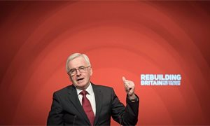 A Labour government would end austerity within its first 100 days, says John McDonnell