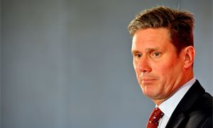Sir Keir Starmer says 'another future is possible' as he enters Labour leadership race