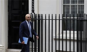 Sajid Javid vows to press on with tax on digital giants despite threats of US reprisal