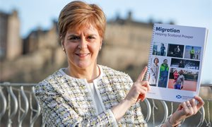 'A Scottish Visa': Nicola Sturgeon releases post-Brexit migration plans