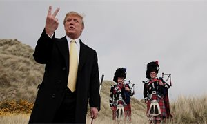 Scottish Greens call for 'McMafia order' on Donald Trump's golf course
