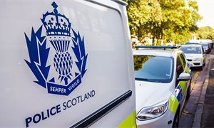 Scottish Police Federation calls for better advice on handling people spitting at police