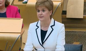 Scottish Parliament considers weekly virtual questions for First Minister