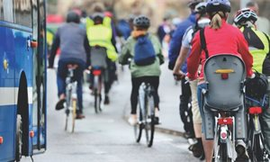 COVID lockdown brings increase in cycling rates