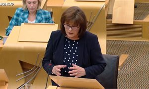 Jeane Freeman defends care home discharge policy