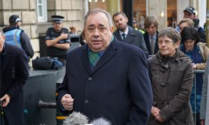 Scottish Government again asked to hand over Salmond legal advice