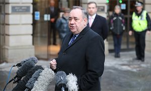 Alex Salmond complainers 'reluctant' to go to the police