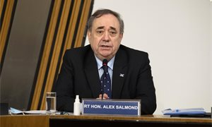 Alex Salmond says complainant's name was shared with his former chief of staff