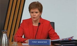 Nicola Sturgeon 'deeply regrets' botched handling of Salmond harassment complaints