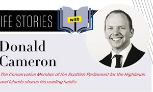 Life Stories: Donald Cameron MSP on the books that mean most to him