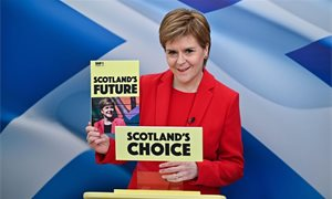Nicola Sturgeon does not intend to hold referendum on EU membership if Scotland becomes independent