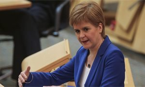 Nicola Sturgeon re-elected as first minister of Scotland