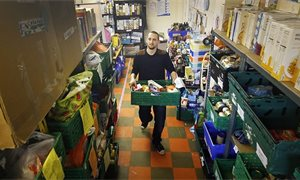 Charity reports 20 per cent increase in foodbank use