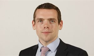 Tory MP Douglas Ross earned almost £2,000 for refereeing Champions League game during universal credit vote