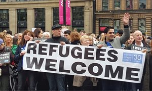 Refugees to access crisis grants upon arrival in Scotland
