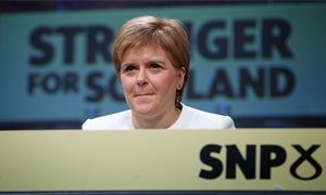 SNP offers 'optimism and hope', Nicola Sturgeon will tell party conference